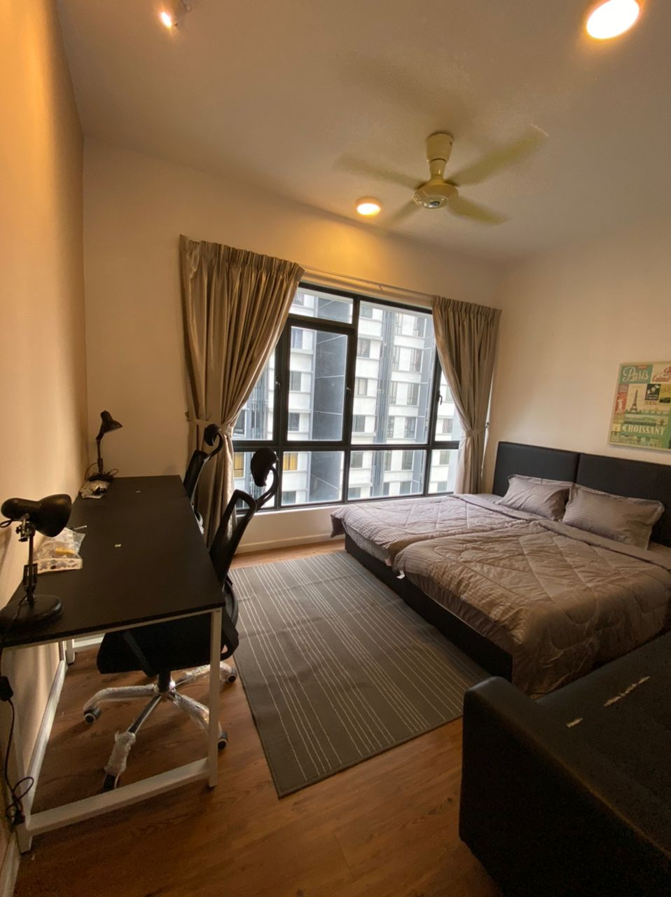 WOW AMAZING 🤩 FEMALE UNIT 🙋♀️ Private Room with Double Beds 😱 & FREE WIFI 📶 @ Utropolis Glenmarie